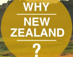 Why NewZealand