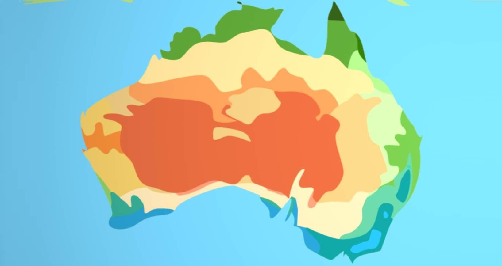 آب و هوای استرالیا چگونه است؟