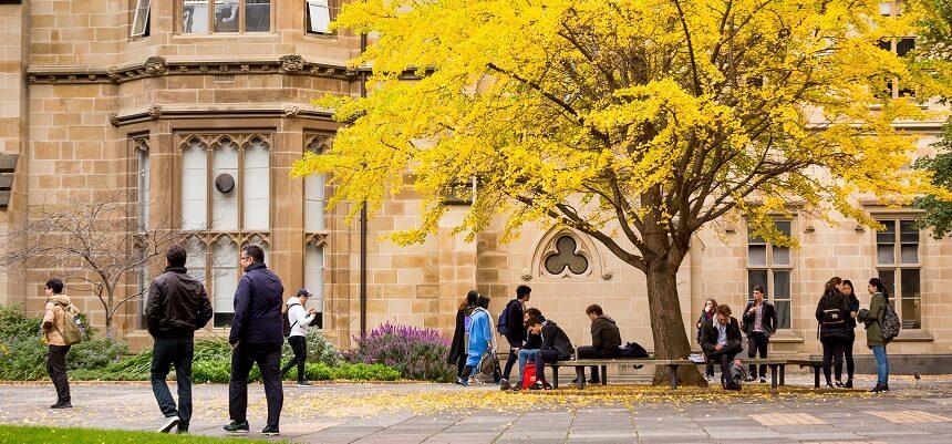 دانشگاه ملبورن بهترین دانشگاه استرالیا می باشد